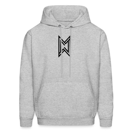 Black Logo White T-Shirt - Men's Hoodie