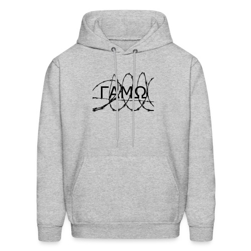 Barbed Wire box logo GAMO - Men's Hoodie