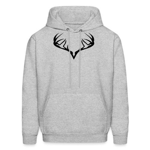 deer horns for bow season - Men's Hoodie