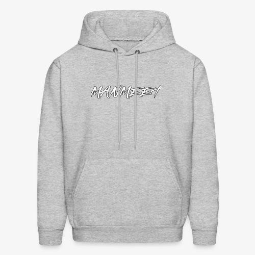 manmeet brush logo - Men's Hoodie