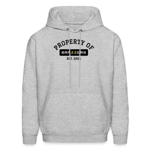 Property of Brazzers logo solid - Men's Hoodie