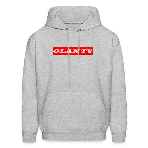 OLAN TV SUPREME TYPE LOGO - Men's Hoodie