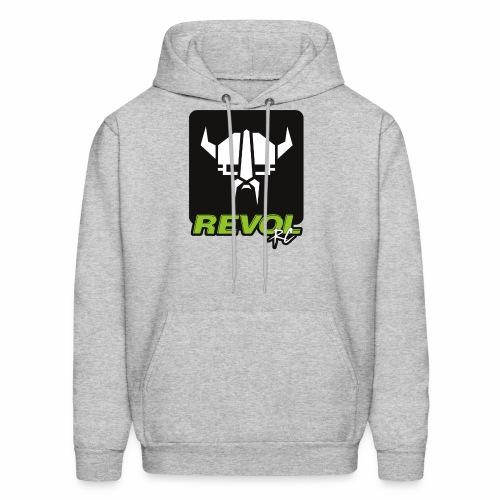 RevolRC Viking White on Black - Men's Hoodie