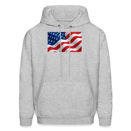 USA Flag - Men's Hoodie