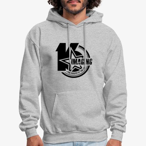 16 Badge Black - Men's Hoodie