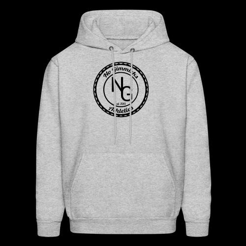 no gimmicks logo svart - Men's Hoodie