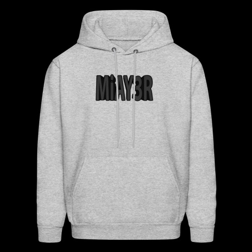 Black MiAY3R Logo - Men's Hoodie