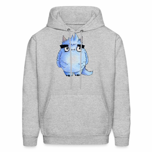 Little Blue Monster - Men's Hoodie