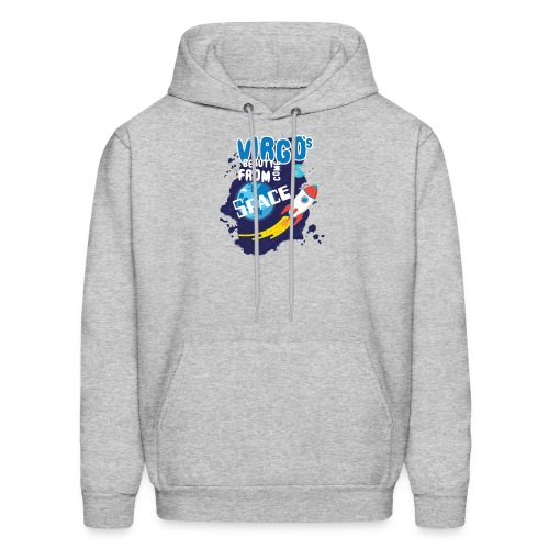 Funny Awesome Virgo`s Beauty come from Space - Men's Hoodie