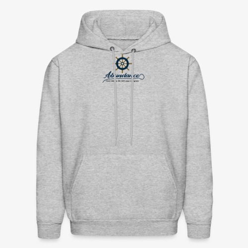 Abundance flows into my life with ease and grace - Men's Hoodie