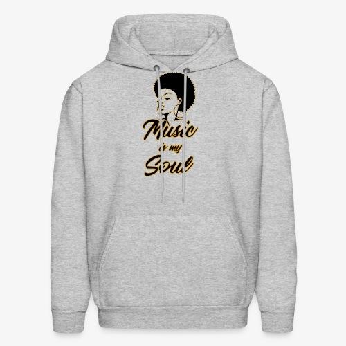 Music Is My Soul 2 - Men's Hoodie