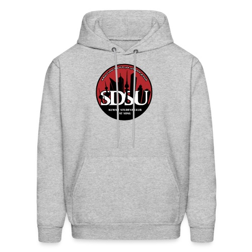 SDSU KUWAIT LOGO - Men's Hoodie