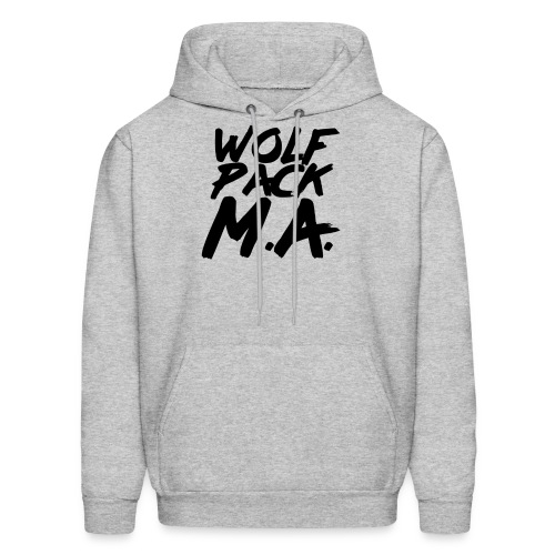 WolfPack M.A. Text Logo - Men's Hoodie