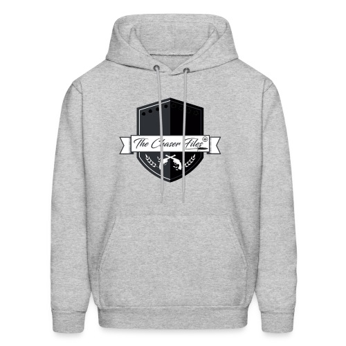 The Chaser Files Logo - Men's Hoodie