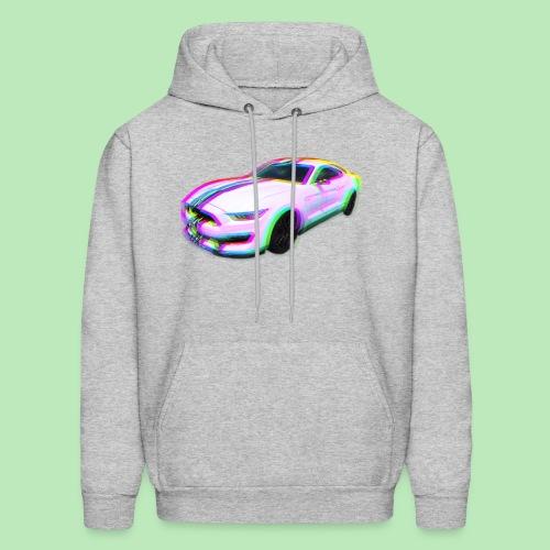 Mustang Glitch - Men's Hoodie