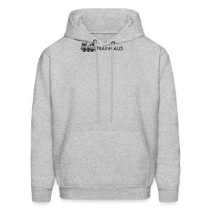 trainhouse logo - Men's Hoodie