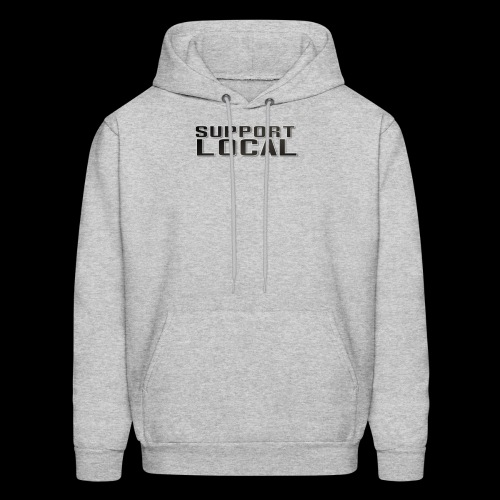 SUPPORT LOCAL - Men's Hoodie