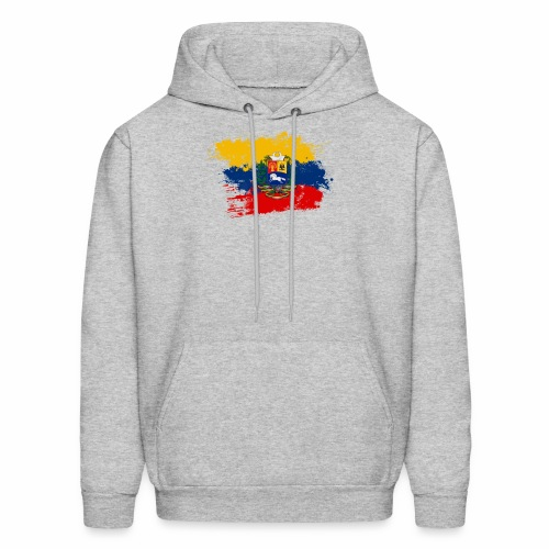 Flag of Venezuela and coat of arms - Men's Hoodie