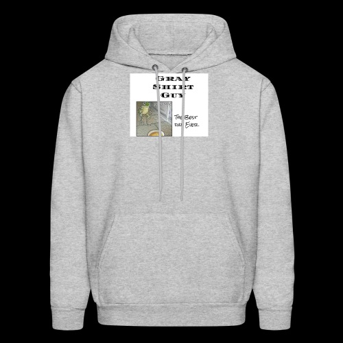 Official gray shirt guys shirt - Men's Hoodie