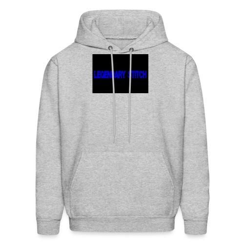 Legendary Stitch - Blue Stitch Design - Men's Hoodie