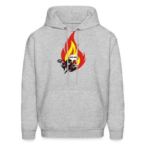 Funny arson ghosts burn everything Halloween - Men's Hoodie