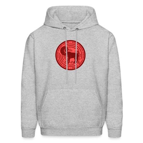Aries Zodiac Badge 01 - Men's Hoodie