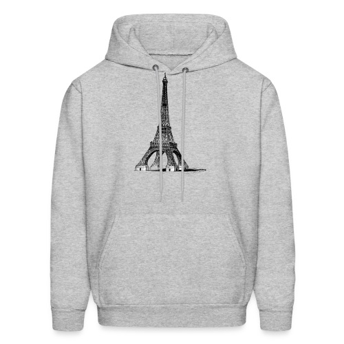 Eiffel Tower t-shirt - Men's Hoodie