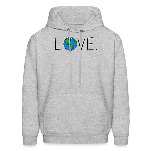 Love. - Men's Hoodie