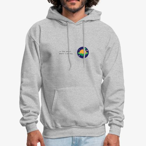 Space ship - Men's Hoodie