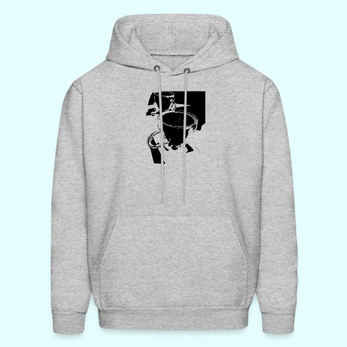 Share a cup or two - Men's Hoodie
