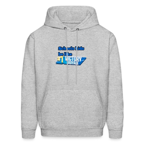 School kids be like... - Men's Hoodie
