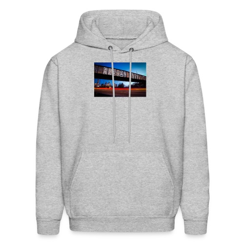 Husttle City Bridge - Men's Hoodie