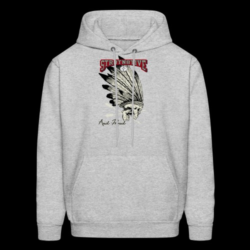 STRAIGHT NATIVE SKULL - Men's Hoodie