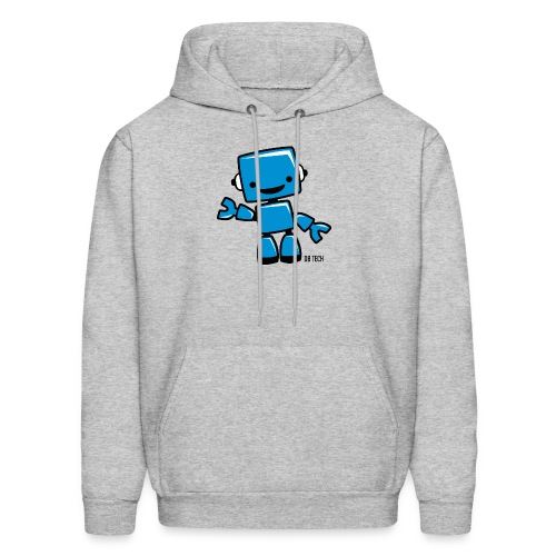 DB Tech Robot With Text - Men's Hoodie