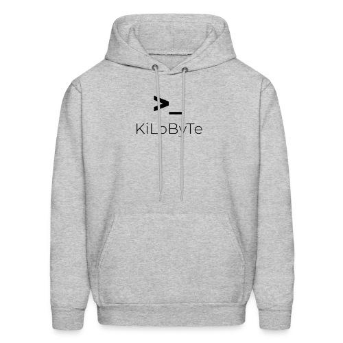 KiLoByTe Logo - Men's Hoodie