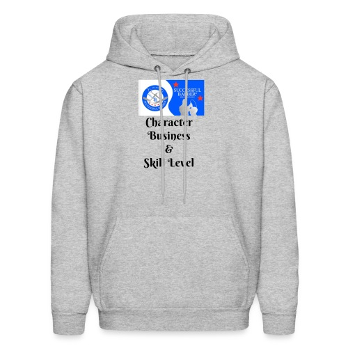 Character, Business & Skill Level - Men's Hoodie