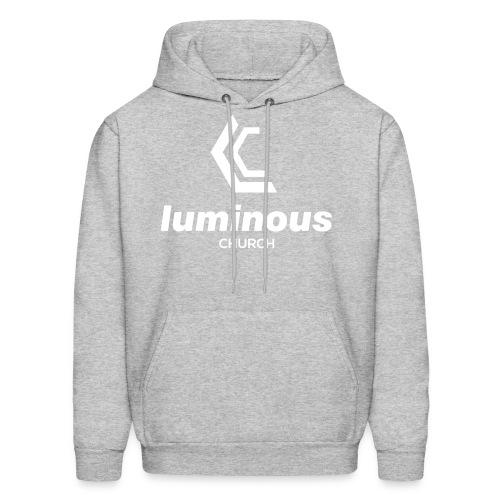 LUMINOUS LOGO - Men's Hoodie