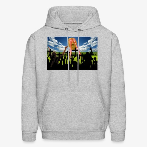 The Face Of God Himself - Men's Hoodie