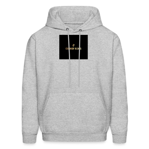 Connor Vlogs Logo - Men's Hoodie