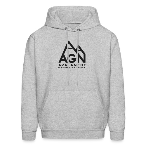 AGN Black Logo Hoodie - Men's Hoodie