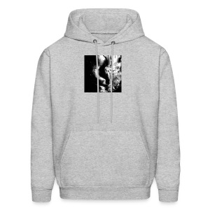 Black_and_White_Abstract_art - Men's Hoodie