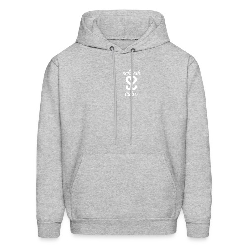 SCHREIB TRIBE MERCH WHITE LOGO - Men's Hoodie