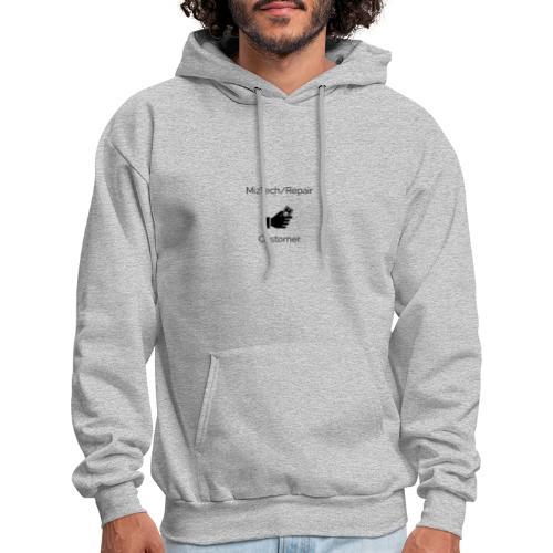 MizTech/Repair Customer Logo - Men's Hoodie