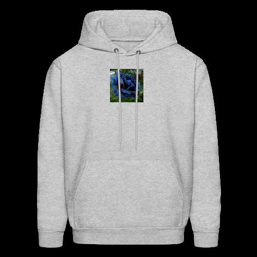 Blue rose - Men's Hoodie