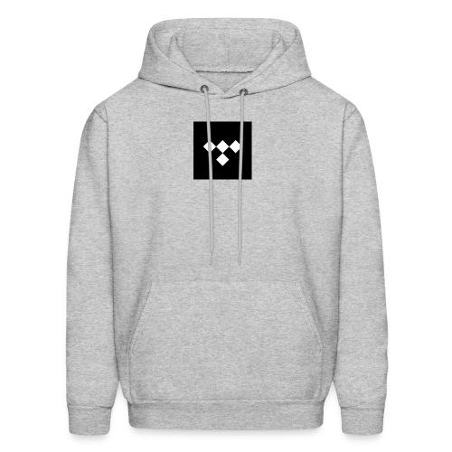 tidal square logo - Men's Hoodie