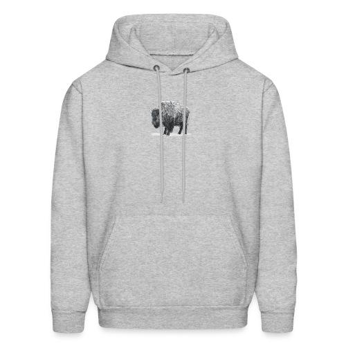 bison image - Men's Hoodie