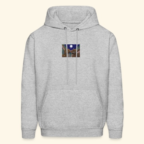 first kiss bmp by shycelt d6kmv7v - Men's Hoodie