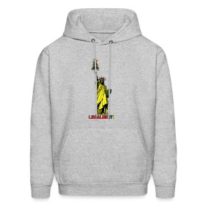 Cannabis of Liberty - Cannabis T-shirts, 420 wear - Men's Hoodie
