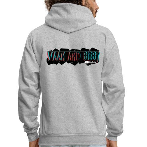 Retro Funk V&B Geometry Logo! - Men's Hoodie