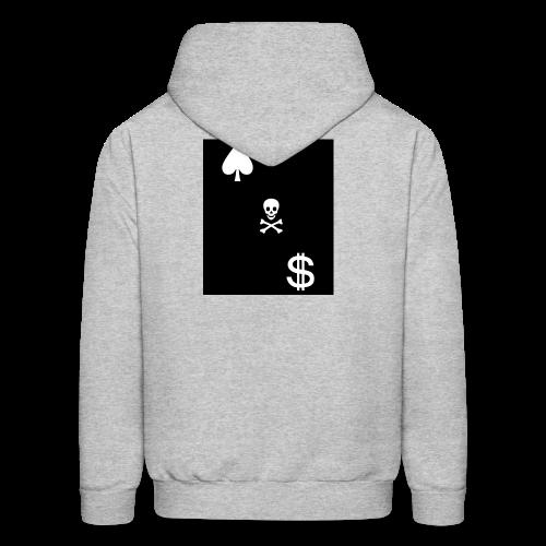 Cash Club Skull - Men's Hoodie